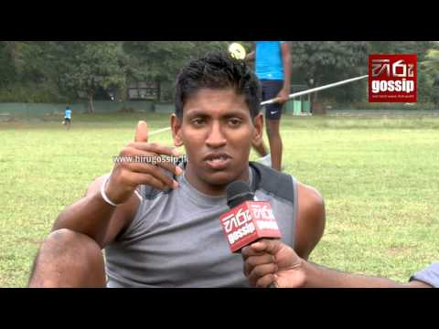 South Asian Games 2016 100 Meters Men Final Gold Winner Himasha Eshan with Hiru Gossip