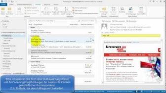 Outlook - E-Mails löschen, endgültig löschen und permanent löschen