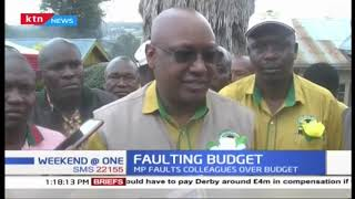 MP faults colleagues over budget