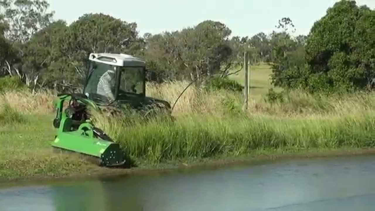 Mowing pond banks - Page 2