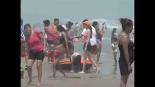 TAMPICO 02 04 2015 Así se vivió en playa miramar en su primer día de semana santa