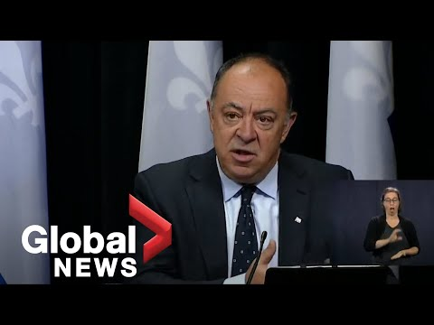 Coronavirus outbreak: Quebec looks to fast track infrastructure projects to revive economy   FULL