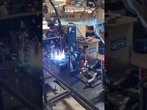 Robot welding Centerstand CB500XY19