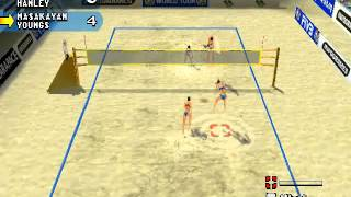 Power Spike: Pro Beach Volleyball (PlayStation One)
