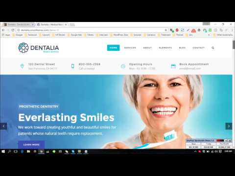 Dental theme wordpress