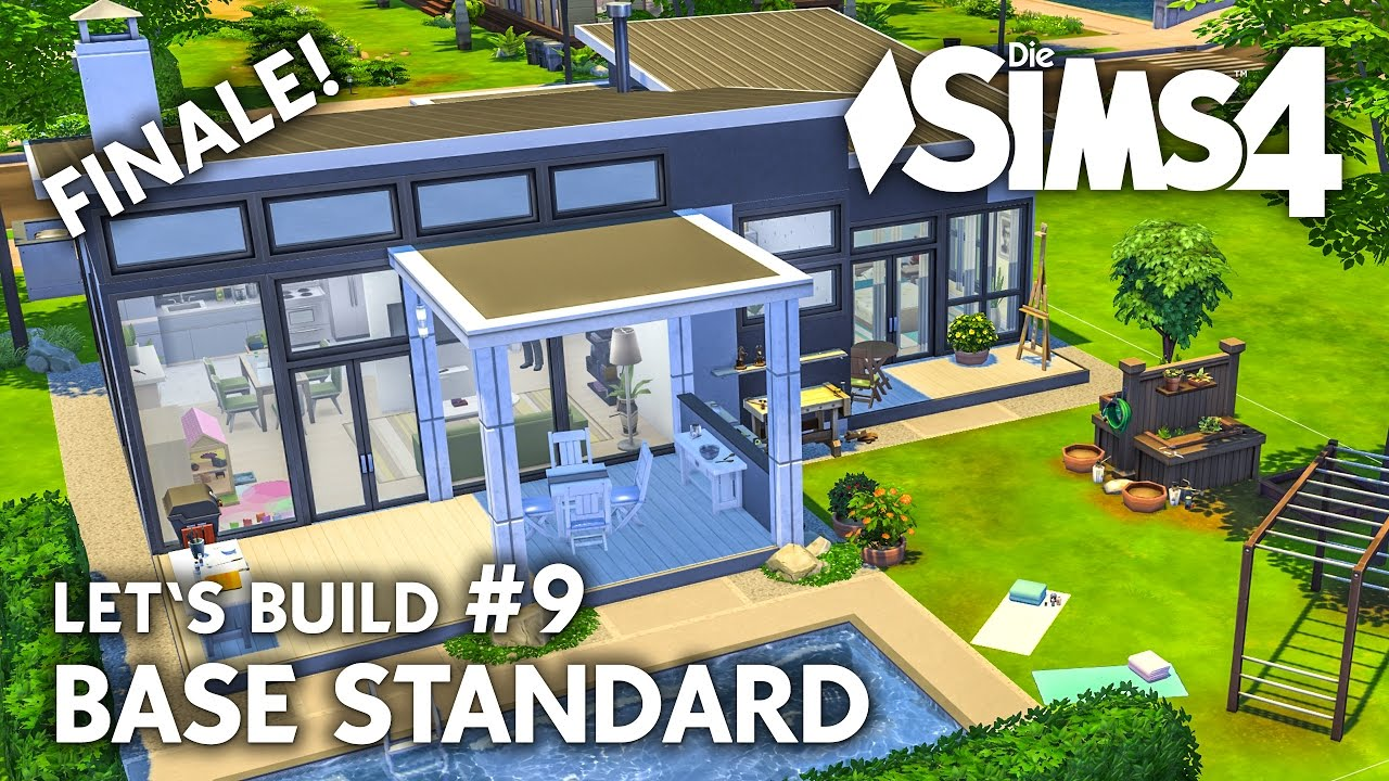 die sims 4 haus bauen ohne packs base standard 9 let 39 s build deutsch youtube. Black Bedroom Furniture Sets. Home Design Ideas