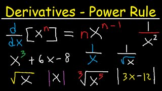 Derivatives Powe Rule