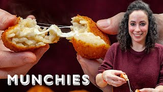 Fried Cheesy Rice Balls with Farideh - The Cooking Show