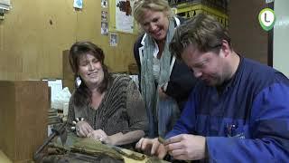 Dames op zoek naar bijzondere locatie: Sigarenfabriek van 't Veen
