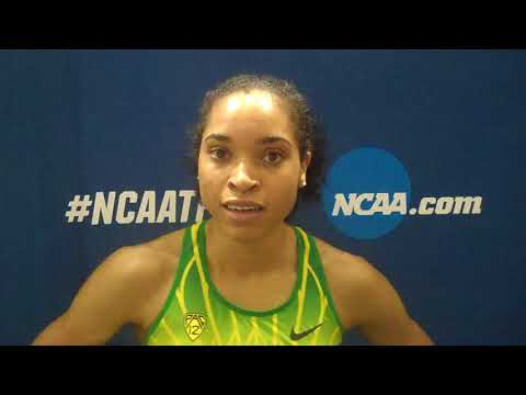 Oregon's Sabrina Southerland claims the NCAA indoor 800 title; UO women finish fifth