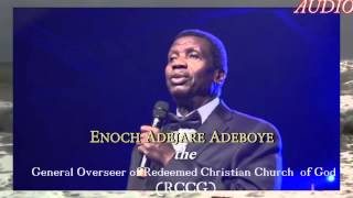 When God is silence to our prayer Pastor Adejare Adeboye preaching 2015 G O Redeemed Christian Churc