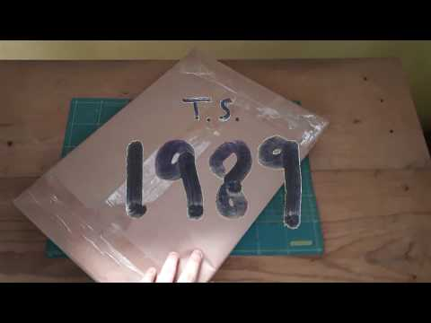 Taylor Swift - 1989 Vinyl Unboxing