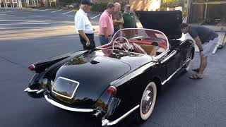 1954 black Corvette only three like it that color in the world.  Care had a little choke problem