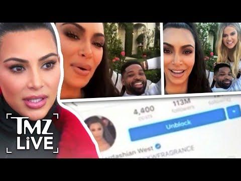 Kim Kardashian Calls Out Tristan Thompson! | TMZ Live