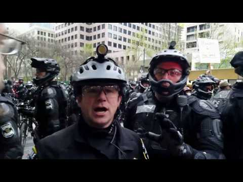 Seattle Police issue warning after fights break out/May Day 2017