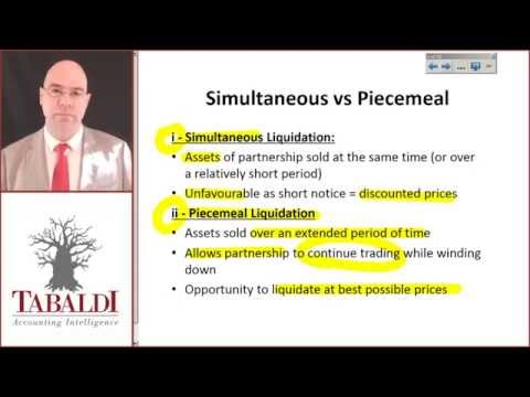 FAC1601-SU4-Introduction to the liquidation of partnerships
