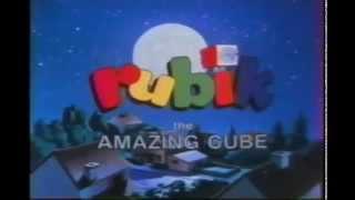 1983 - Rubik, the Amazing Cube cartoon opening