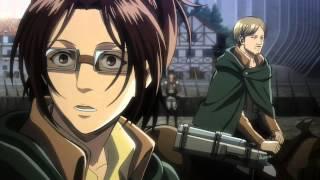 Shingeki no Kyojin - OVA 1 Clip 1 - Hanji's Excitement Toward Titans