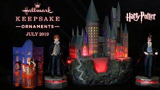 Harry Potter Hallmark Collection : Hogwarts Castle : Harry and Ron Storyteller Ornaments : July 2019