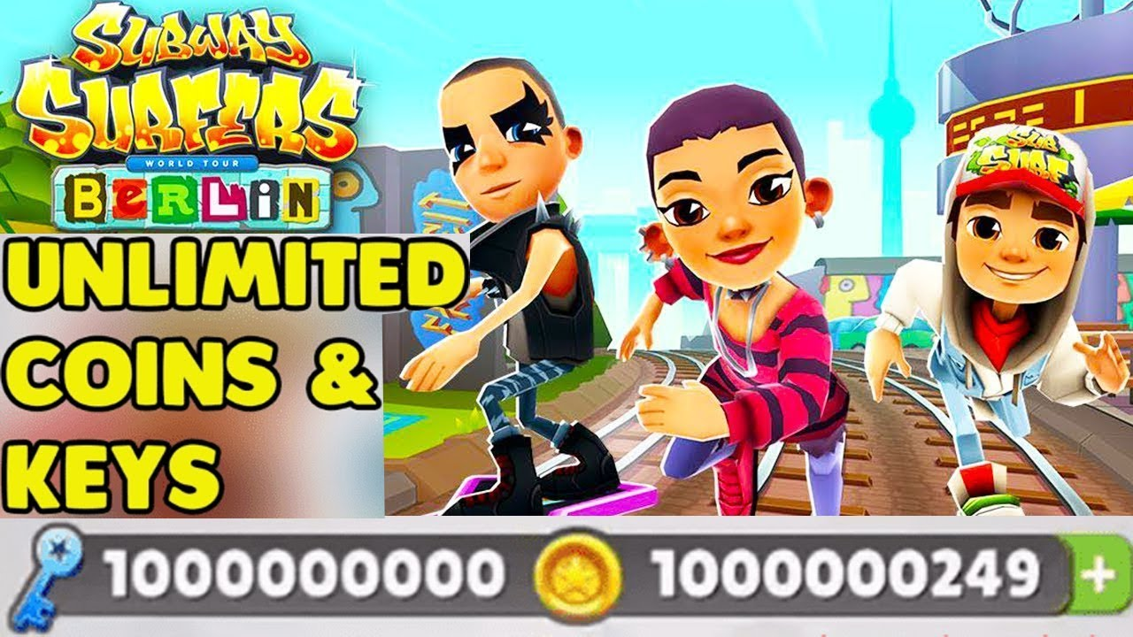 subway surfers rio unlimited coins and keys apk download