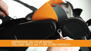 Fiskars StaySharp Max Reel Mower - Checking and Adjusting the Blades
