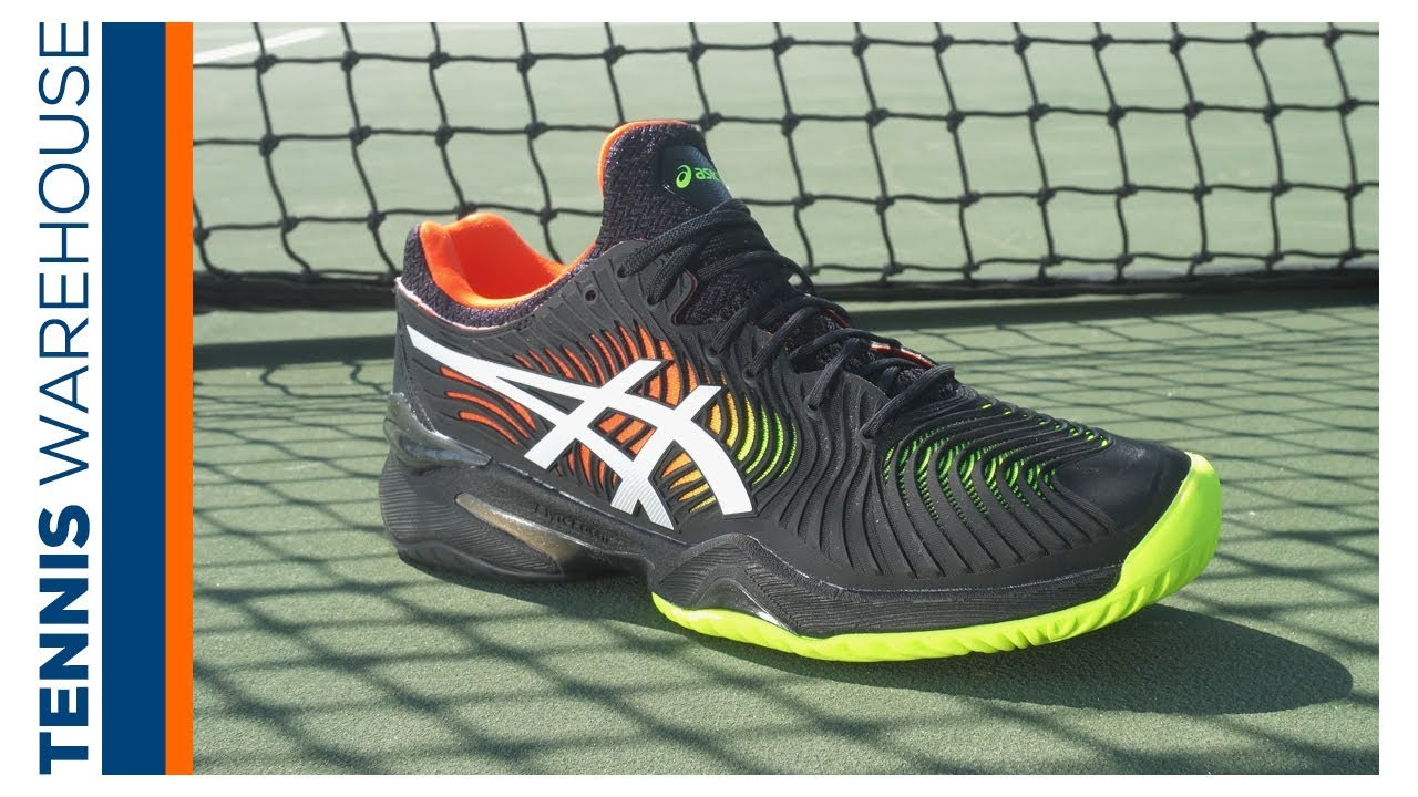 Asics Court FF 2 Clay RedWhite Men's Shoes Tennis
