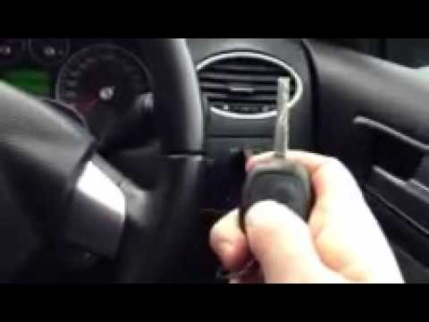 Remote Programming the Ignition Ford Focus - YouTube