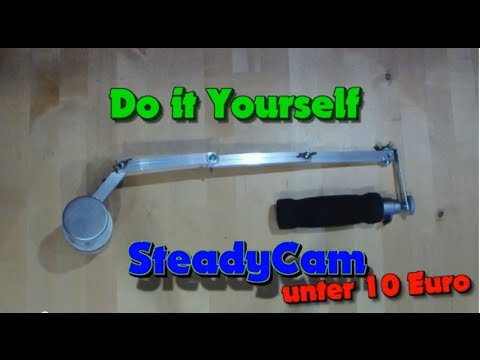 do it yourself steadycam unter 10 euro tutorial youtube. Black Bedroom Furniture Sets. Home Design Ideas