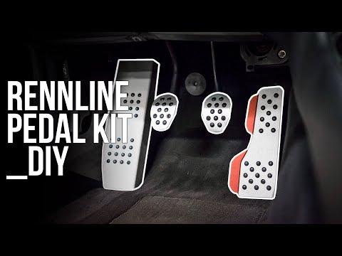 RENNLINE Pedal Kit DIY - E46 M3