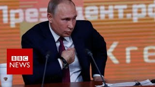 Putin: Trump opponents harm US with
