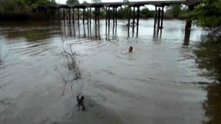 Banho no Rio Pintado Sao Miguel do Araguaia