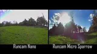 Runcam Nano & Micro Sparrow - FPV Camera Testing