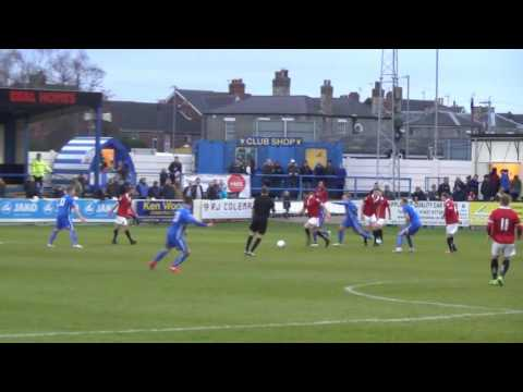 Gainsborough Trinity 1-2 FC United. 3 Dec 2016