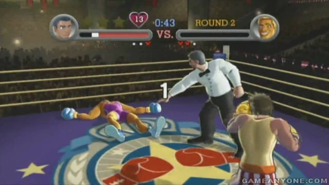 Punch-Out!! Wii Walkthrough - World Circuit B - Title Defense: Disco Kid [HD]