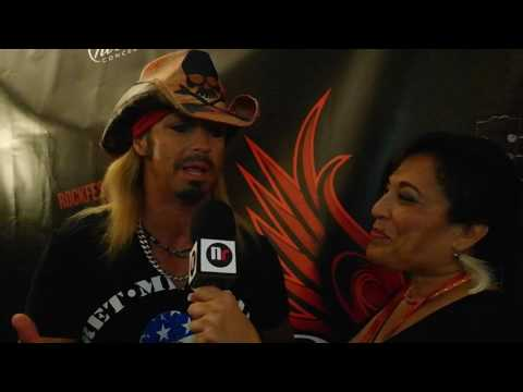 BRET MICHAELS interview at ROCKFEST 80s Concert with Nuestro Magazine