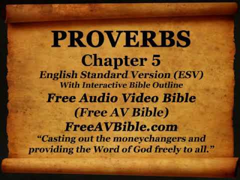 Bible Book 20. Proverbs Complete 1-31, English Standard Version (ESV) Read Along Bible