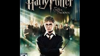 harry potter and the order of the phoenix game movie