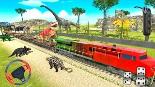 Animal Transport Train Game 2021 Android Gameplay screenshot 3