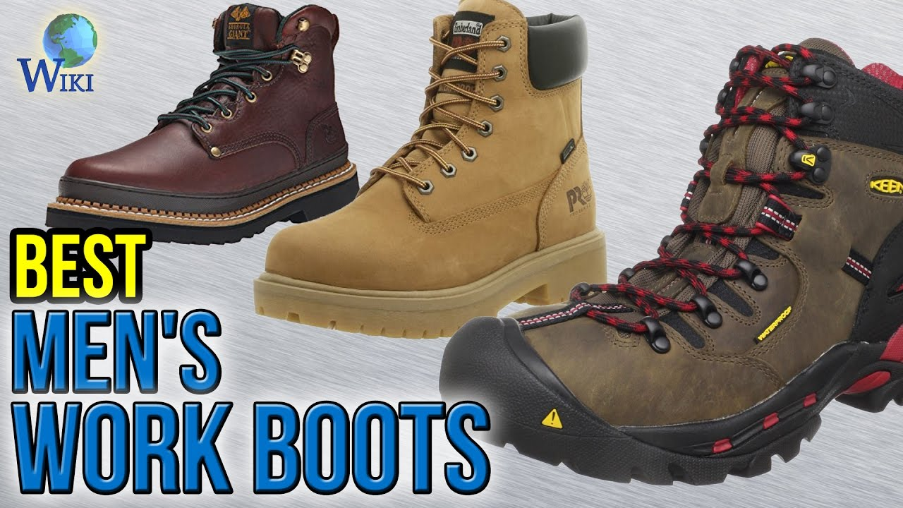 Top 20 Best Work Boots For Men – Step Into Durability That Lasts