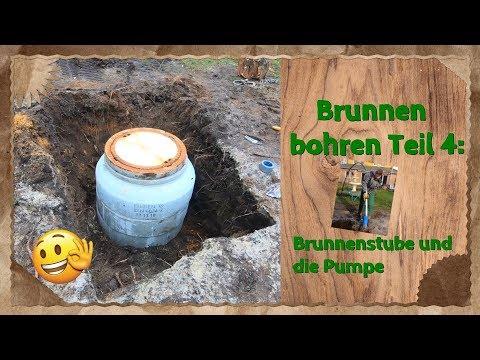 Brunnen Bohren Teil 4: Brunnenstube Und Die Pumpe 🤗👍👌
