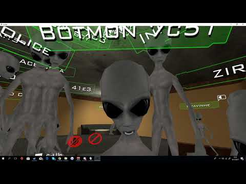 Getting molested by aliens