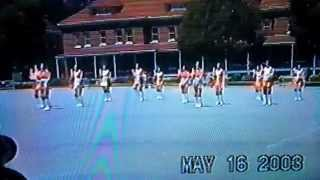 Lincoln high school girls drill team 2003