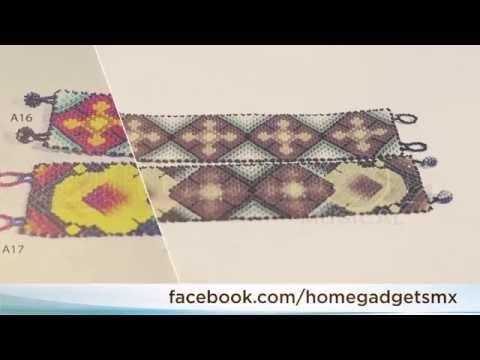 dc3e7907435f Pulsera de chaquira - Artesanía Huichol - Arte Popular Mexicano -  HomeGadgets - YouTube