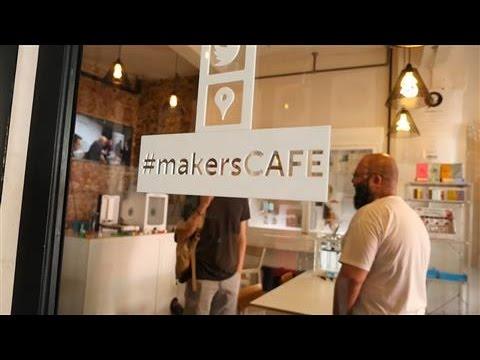 3-D Printing Cafe Brews Creativity