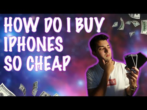 HOW TO BUY IPHONES FOR CHEAP