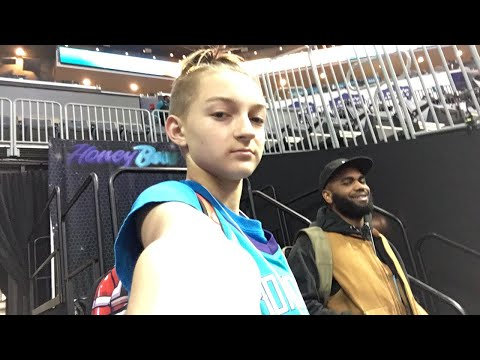 At the Charlotte Hornets game - YouTube ebe746b244474