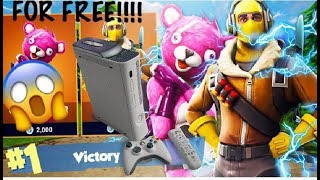 HOW TO UNLOCK FORTNITE ON XBOX 360! *FOR FREE!* (MUST WATCH!)