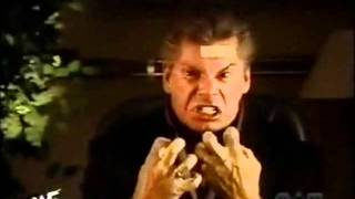 WWF Smackdown: Vince Mcmahon Lethal Dose Promo Jan 24th, 2002