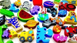 ABC SONG|Transport Alphabet|Animals Alphabet song|Space Alphabet|Farm Alphabet|Alphabet Toy Food
