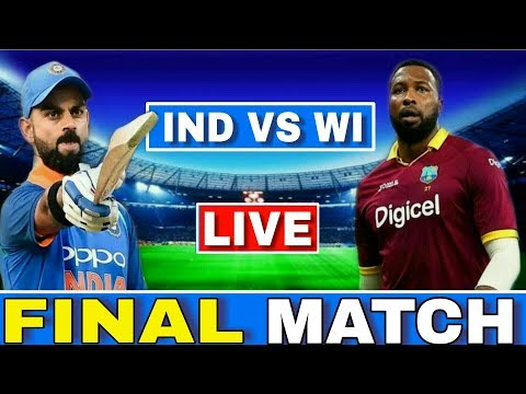 LIVE : India Vs West Indies 3rd ODI | IND VS WI Today Match Live Streaming | Ind Vs Wi 3rd ODI Live